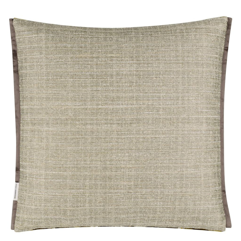 Designers Guild Manipur Ochre Cushion | Putti Fine Furnishings Canada