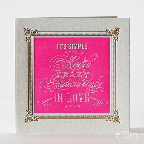Crazy in Love Card