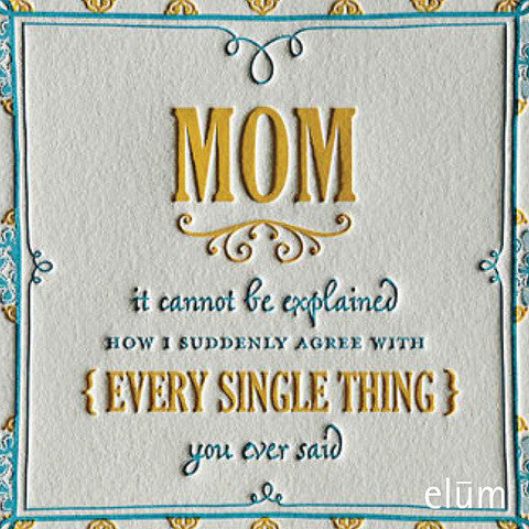Mom's Bouquet Greeting Card, ED-Ellum Design, Putti Fine Furnishings