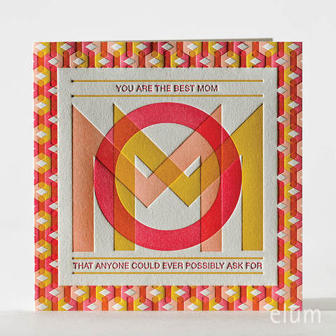 Mod Mom Greeting Card, ED-Ellum Design, Putti Fine Furnishings