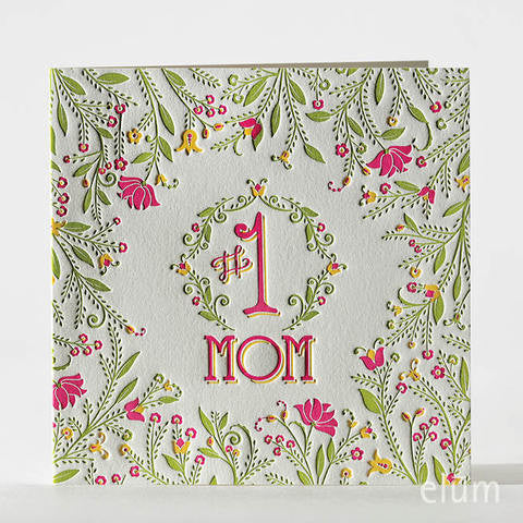 Mom's Garden Greeting Card