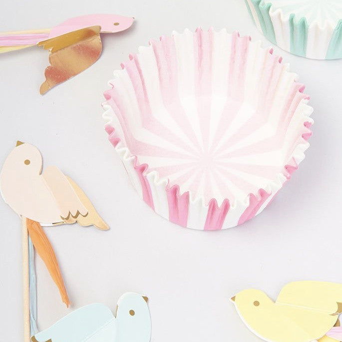 "Meri Meri ""Pretty Birdie"" Cupcake Kit -  Party Supplies - Meri Meri UK - Putti Fine Furnishings Toronto Canada - 1"