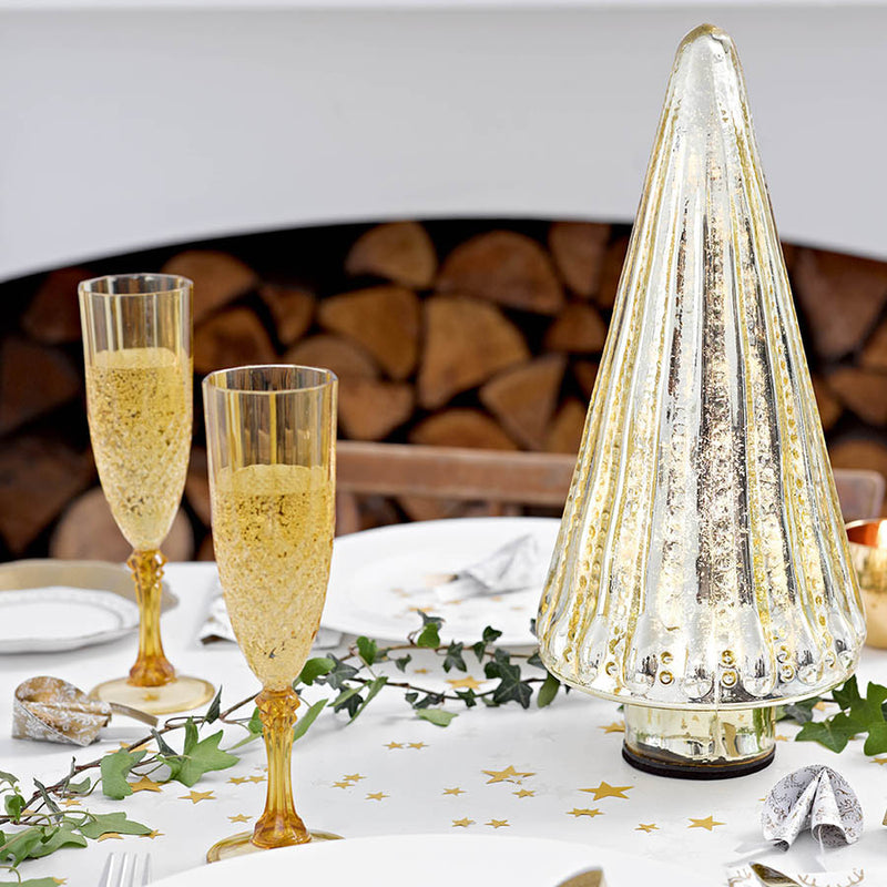 Gold Plastic Champagne Flute, TT-Talking Tables, Putti Fine Furnishings