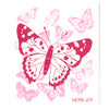 More Joy Pink Butterflies Swedish Cloth | Putti Fine Furnishings