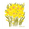 More Joy Daffodils Swedish Cloth | Putti Fine Furnishings
