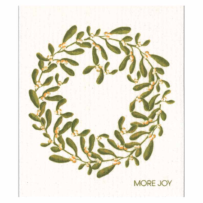 More Joy Mistletoe Swedish Cloth | Putti Canada
