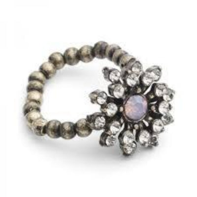 Lovett & Co. Baroque Starburst Ring Rosewater Opal | Putti Fine Fashions