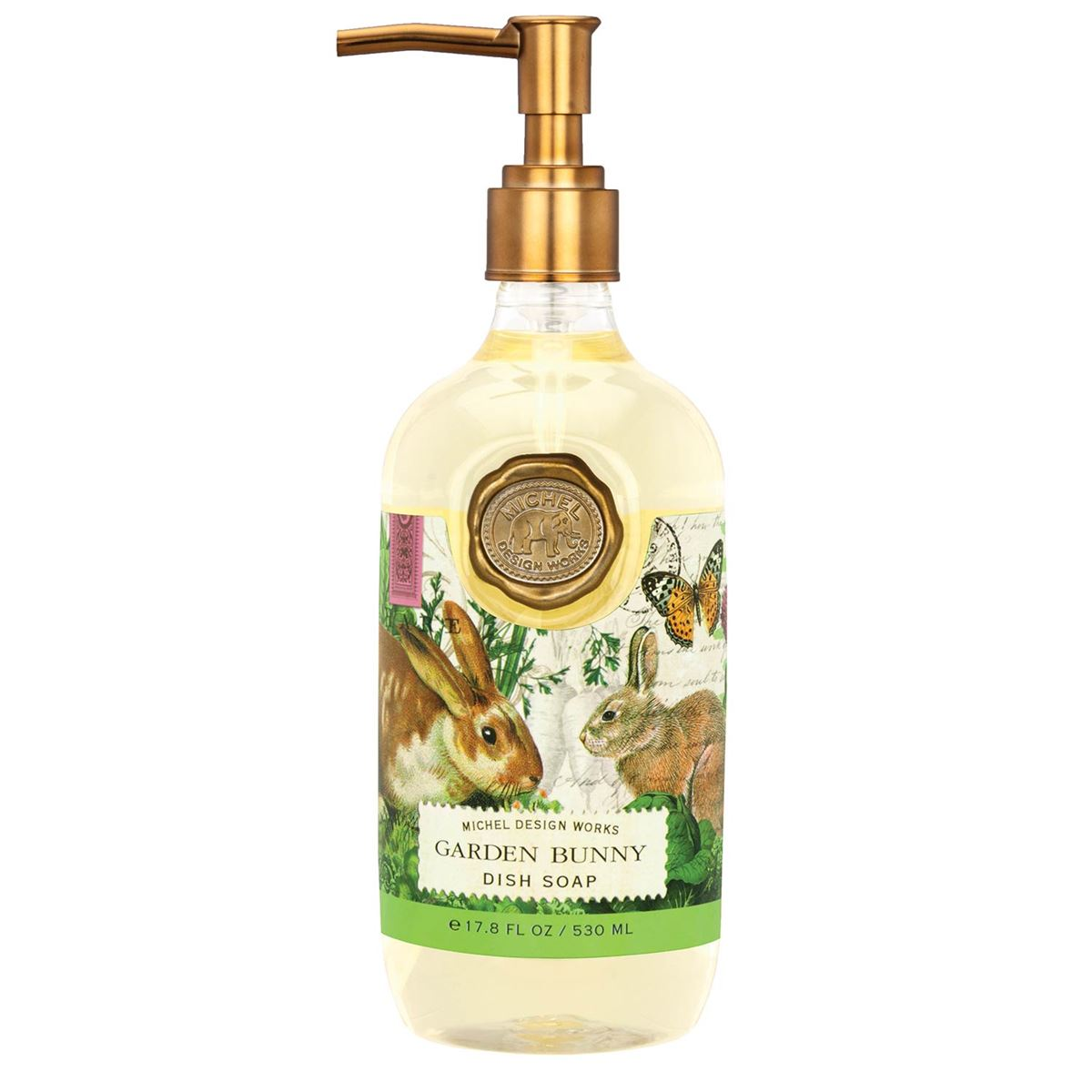 Michel Design Works Garden Bunny Dish Soap