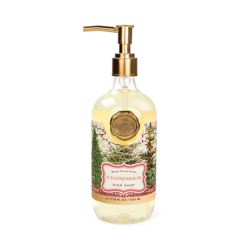 Michel Design Works O Tannenbaum Dish Soap | Putti Christmas Canada