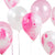We Heart Pink Marble Effect Balloons, TT-Talking Tables, Putti Fine Furnishings