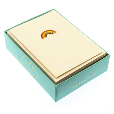 Rainbow Petite Boxed Notes