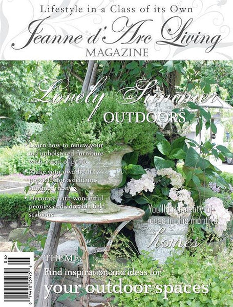 Jeanne d'Arc Living Magazine June 2014 6th edition-Book-Jeanne d'Arc Living-Putti Fine Furnishings