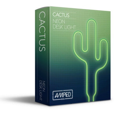Cactus Neon Light-Lighting-A&C-Amped & Co.-Putti Fine Furnishings