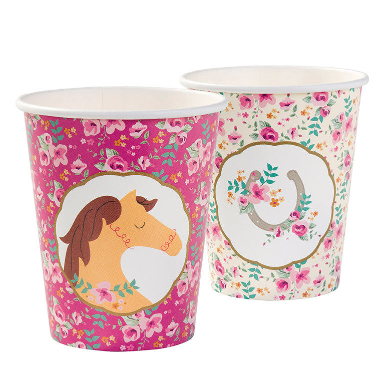 Pony Party - Paper Cups -  Party Supplies - Talking Tables - Putti Fine Furnishings Toronto Canada - 1