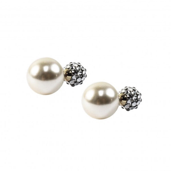 "Jimmy Crystal ""Rosabel"" Earring - Cream Pearl, Jimmy Crystal, Putti Fine Furnishings"