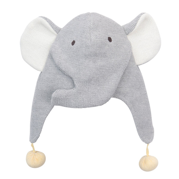 Elegant Baby Aviator Hat - Elephant-Children's Clothing-EB-Elegant Baby-Putti Fine Furnishings