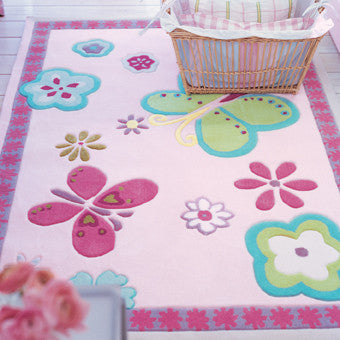 Designers Guild Elgin Flower Kid's Rug