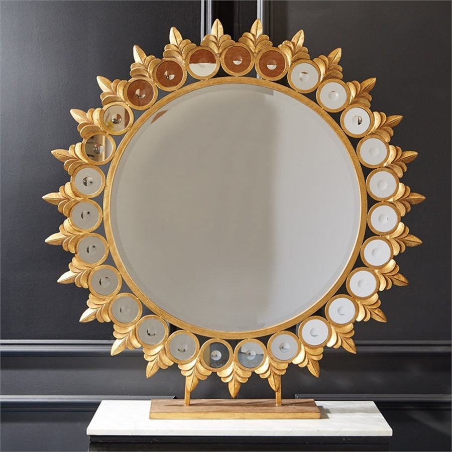 Tozai Sun Mirror On Pedestal