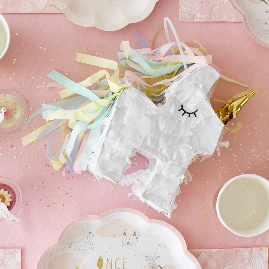 """We Heart Unicorns"" Mini Piñata, TT-Talking Tables, Putti Fine Furnishings"
