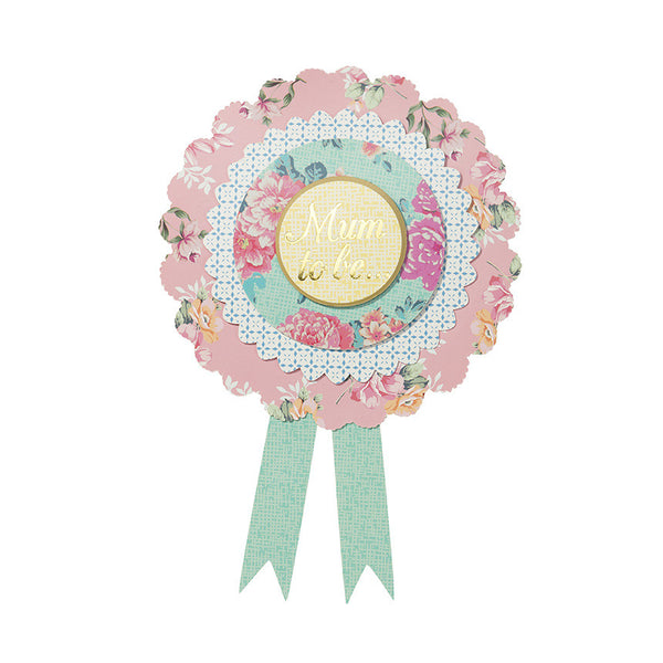 "Truly Baby ""Mum to Be"" Rosette-Party Supplies-TT-Talking Tables-Putti Fine Furnishings"