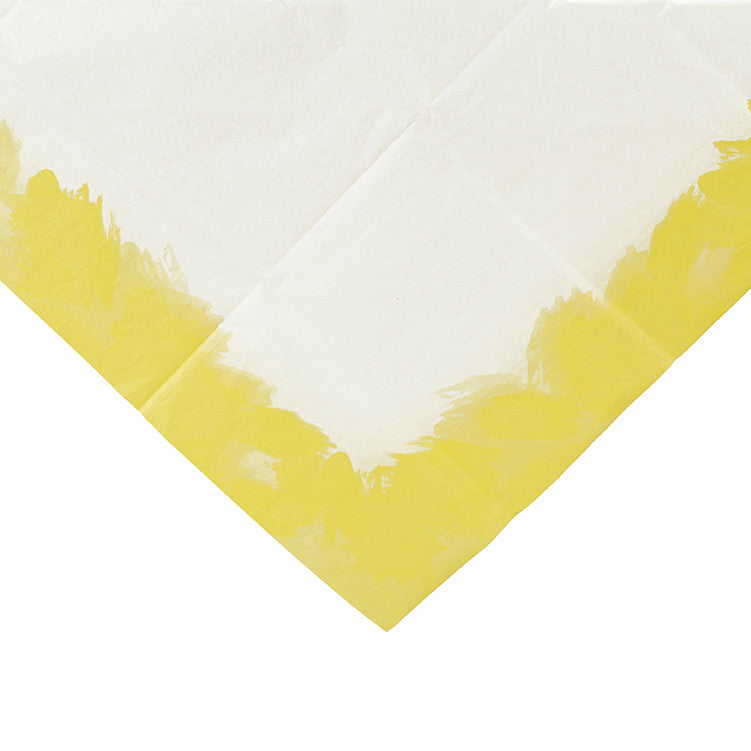 Fluorescent Yellow Paper Table Cover, TT-Talking Tables, Putti Fine Furnishings