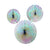 Decedant Decs Iridescent Fan Decorations, TT-Talking Tables, Putti Fine Furnishings