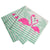 Tropical Pink Flamingo Paper Cocktail Napkins