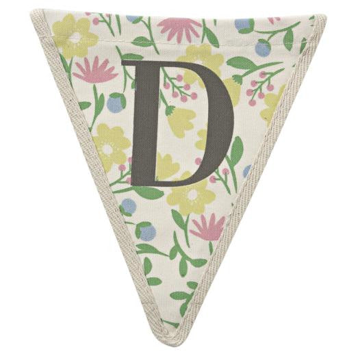 Meri Meri Alphabet Bunting - Letter D, MM-Meri Meri UK, Putti Fine Furnishings
