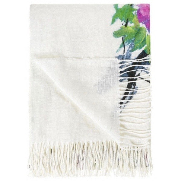 Designers Guild Faience Blanc Throw