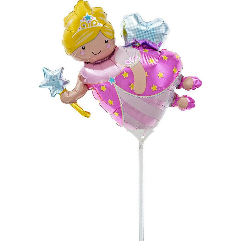 Fairy Godmother Mylar Balloon on Stick
