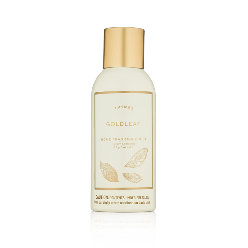 Thymes Goldleaf Room Spray  -  Putti Fine Furnishings Canada