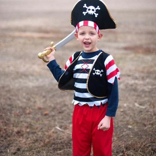 Pirate Costume, Creative Education, Putti Fine Furnishings