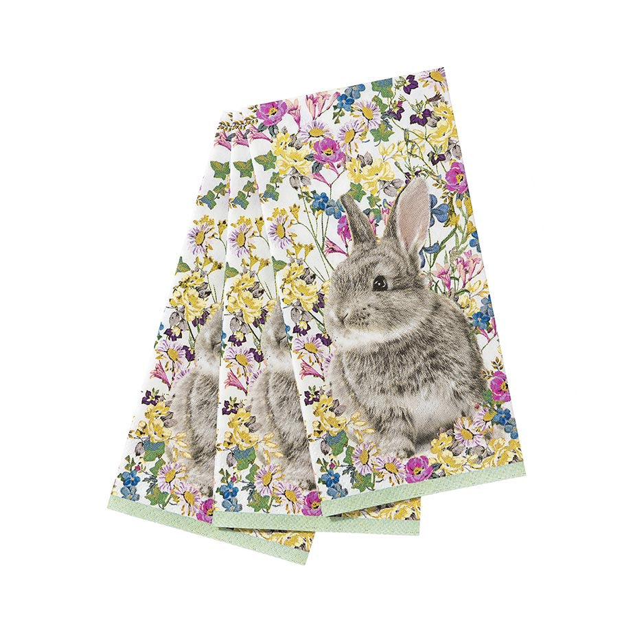 Arriving Soon! Truly Bunny Paper Napkins -  Easter - Putti Fine Furnishings - Putti Fine Furnishings Toronto Canada - 1