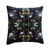 Floralisim Graphic Floral Velvet Cushion 50cm x 50cm