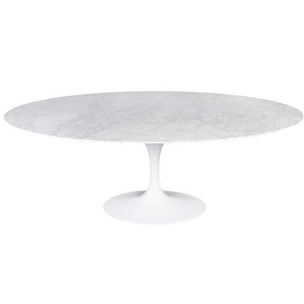 Flute Oval Dining Table, SIF-Style in Form, Putti Fine Furnishings
