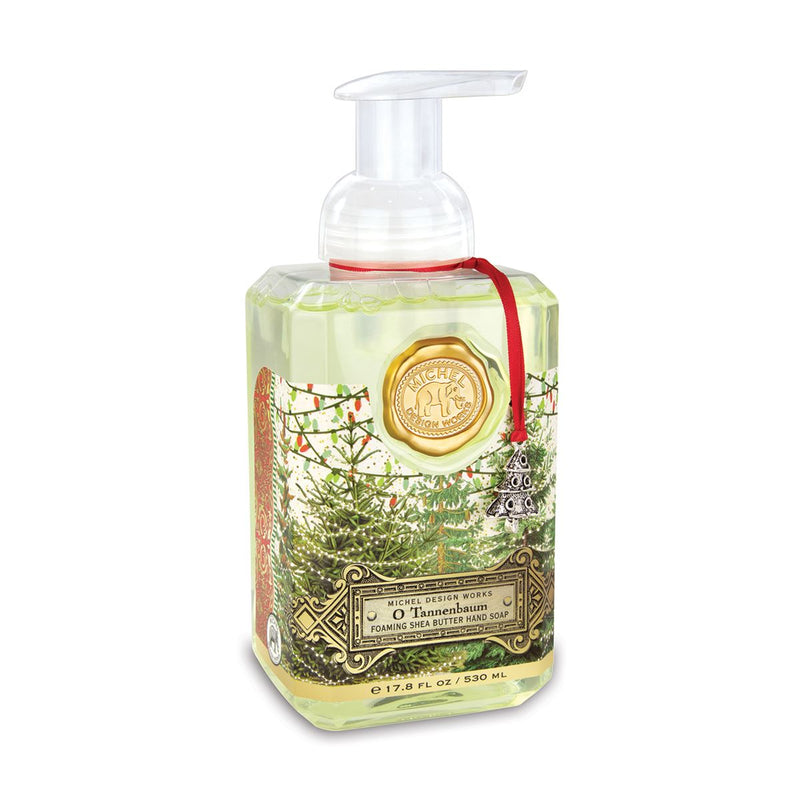 Michel Design Works O Tannenbaum Foaming Hand Soap | Putti Christmas Canada