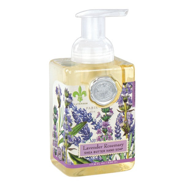 Lavender & Rosemary Foaming Hand Soap-Bath Products-MDW-Michelle Design Works - David Youngston-Putti Fine Furnishings