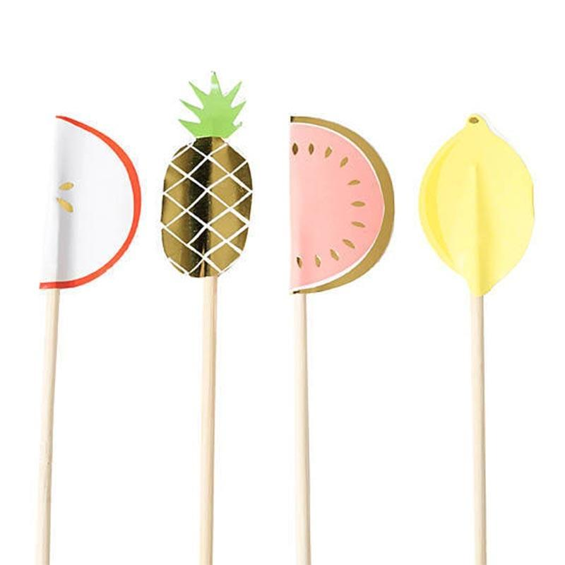Meri Meri Fruit Swizzle Sticks