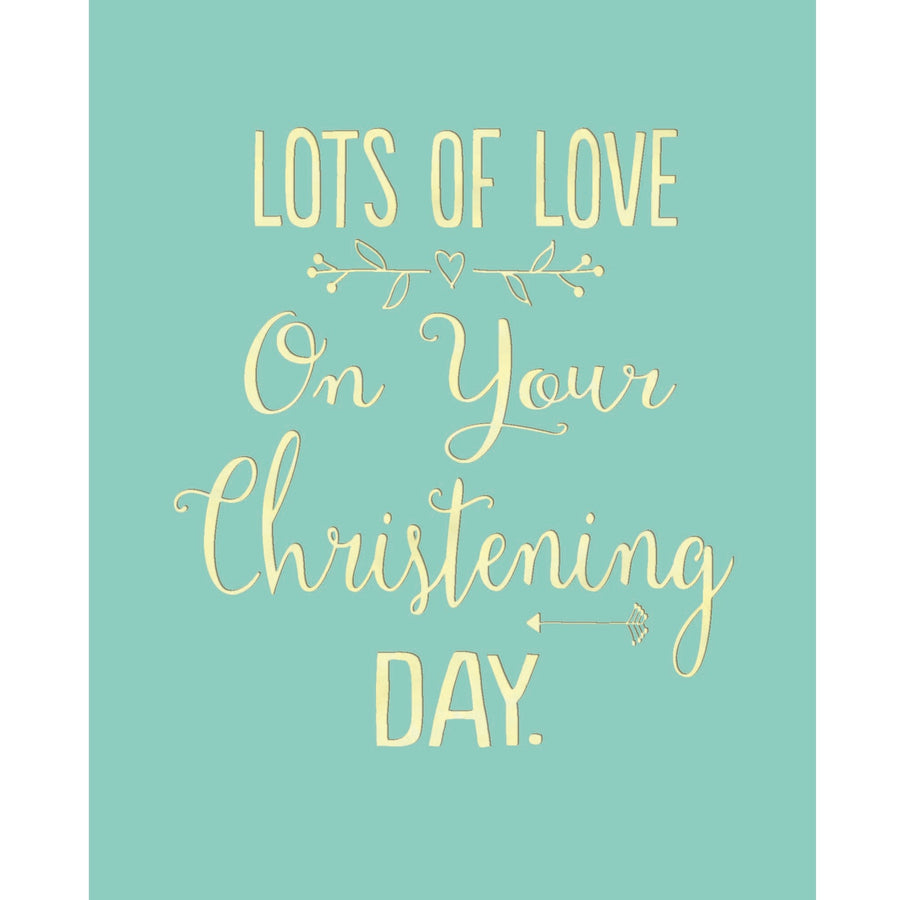 """Christening Day"" Greeting Card"