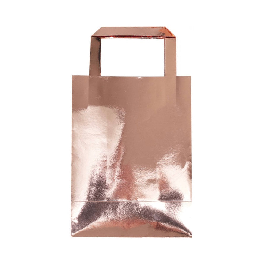 Rose Gold Foil Party Bags
