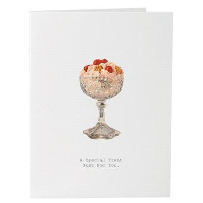 "Tokyo Milk ""A Special Treat Just For You"" Greeting Card, TM-Tokyo Milk, Putti Fine Furnishings"