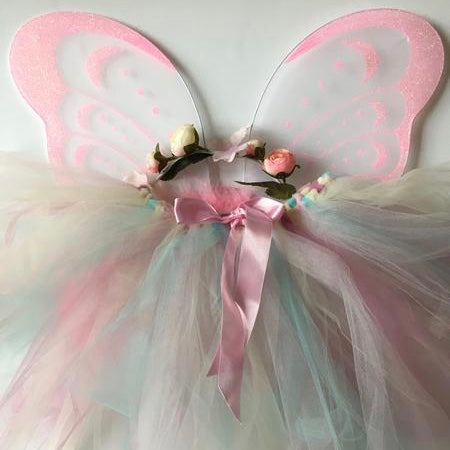 Flower Fairy Set - Soft Pink, SCC-Spotted Cow Creations UK, Putti Fine Furnishings