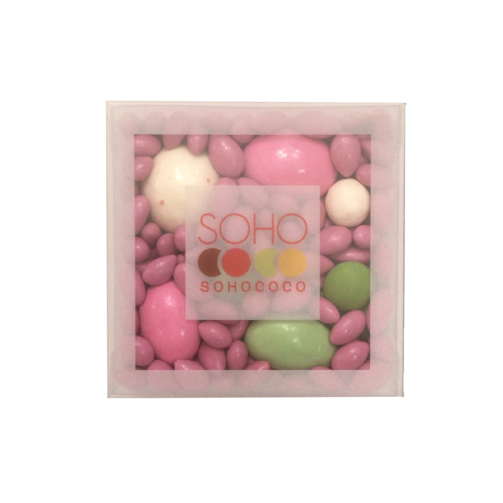 Soho Chocolate Covered Sunflower Seeds - Pink and Green, SCI-Sohococo Inc., Putti Fine Furnishings