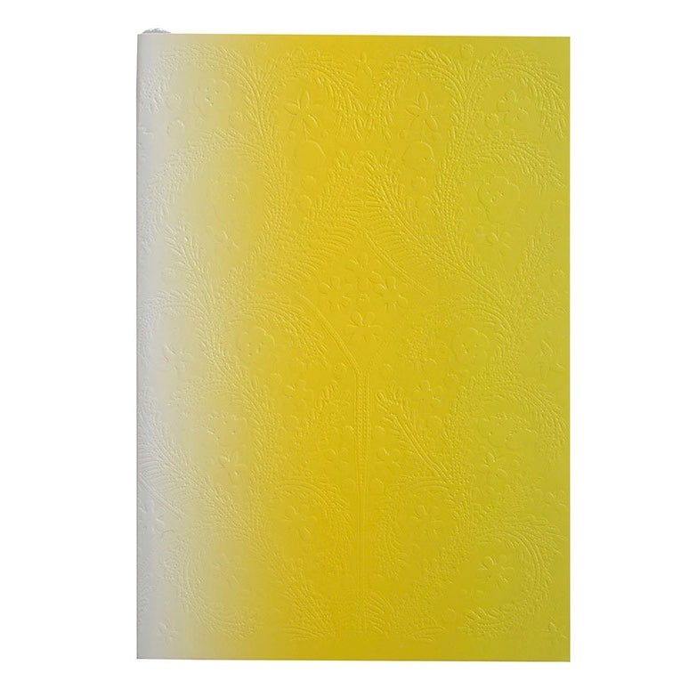 Christian Lacroix Embossed Paseo Notebook -Neon Yellow Ombre, GA-Galison, Putti Fine Furnishings