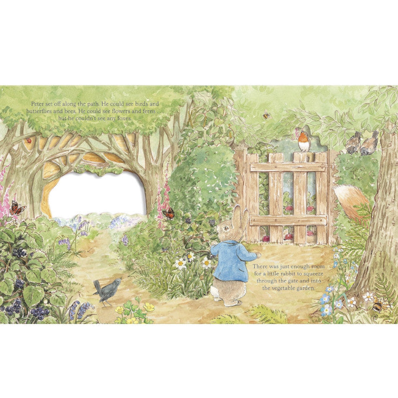 Peter Rabbit: A Peep Inside Tale