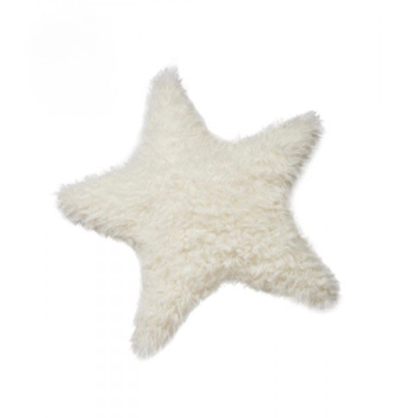 Bunnies by the Bay Furry Star Pillow, Bunnies By The Bay - Kids Preffered, Putti Fine Furnishings