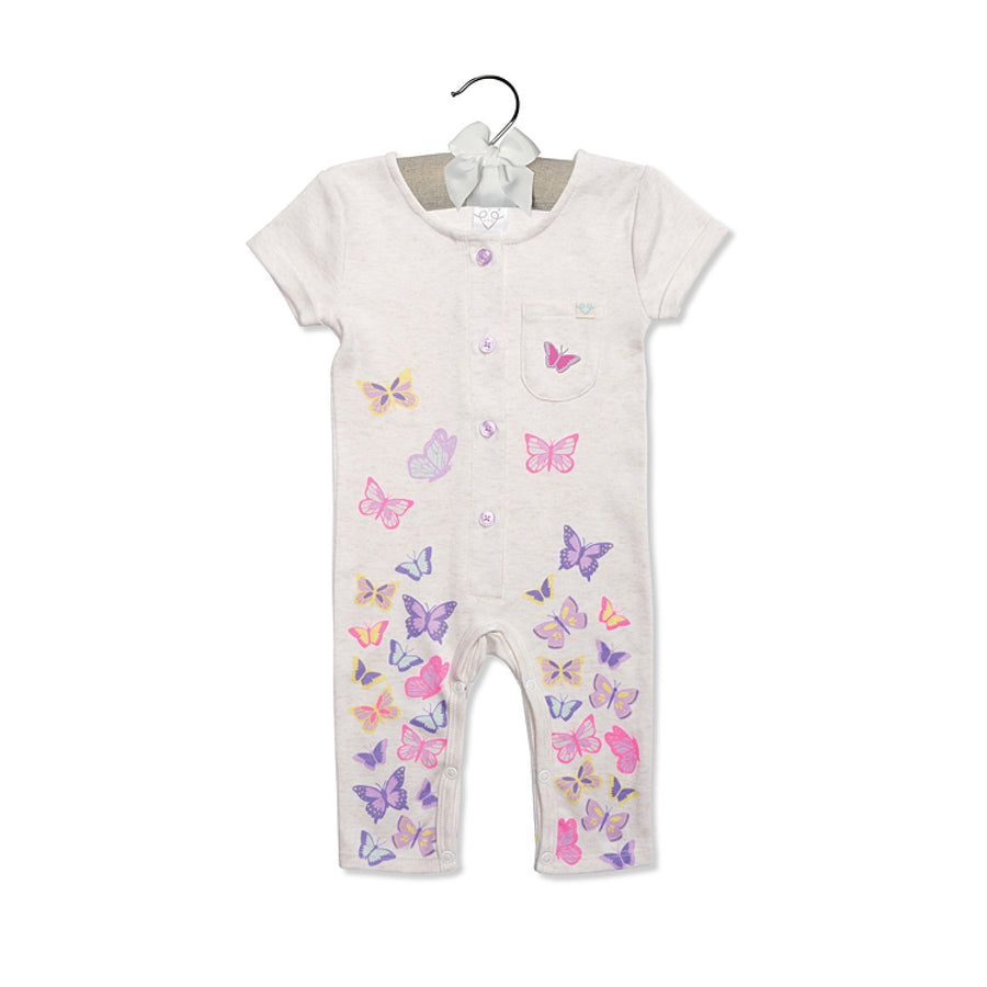 "Baby Dumpling ""Butterflies in the Wind"" Playsuit"