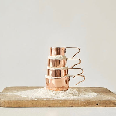 Copper Finish Measuring Cups, CCO-Creative Co-op - Design Home, Putti Fine Furnishings