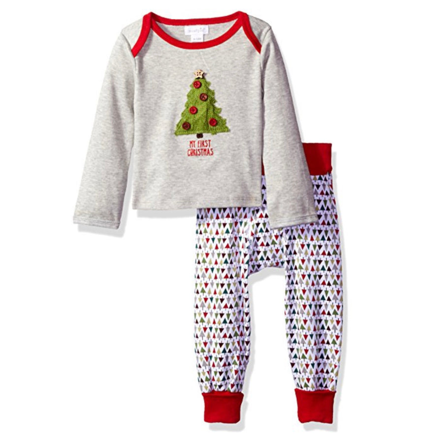 """My First Christmas"" Two Piece Pant Set, MP-Mud Pie, Putti Fine Furnishings"