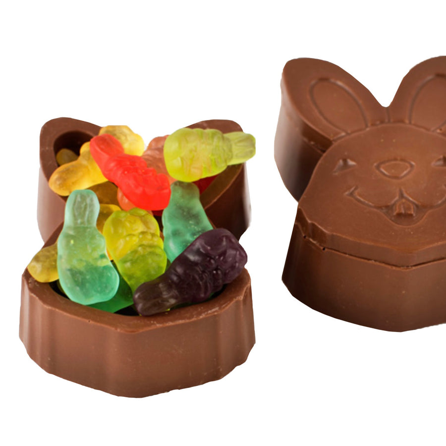 Bunny Face Box with Easter Gummies